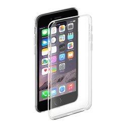 Чехол-накладка для Apple iPhone 6, 6S (Deppa Gel Case 85202) (прозрачный) + защитная пленка