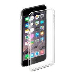Чехол-накладка для Apple iPhone 6 Plus, 6S Plus + защитная пленка (Deppa Gel Case 85204) (прозрачный)