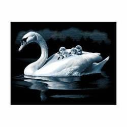 "Гравюра Reeves ""Лебедь и птенцы"" (PPSF37) (от 8 лет)"
