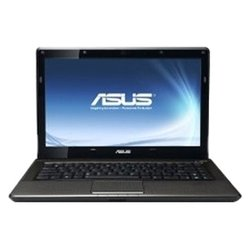 "asus k42dy (phenom ii p960 1800 mhz/14.0""/1366x768/4096mb/320gb/dvd-rw/wi-fi/bluetooth/win 7 hb)"