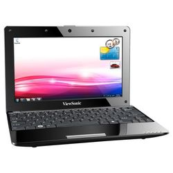 "viewsonic vnb107 (atom n455 1660 mhz/10.1""/1024x600/1024mb/250gb/dvd нет/wi-fi/win 7 starter)"