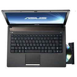 "asus n82jv (core i3 350m 2260 mhz/14""/1366x768/2048mb/320gb/dvd-rw/wi-fi/bluetooth/win 7 hb)"
