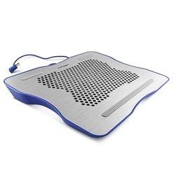Подставка для ноутбука CROWN CMLC-1001 (CM000001372) (серебристо-синий)