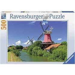"""Пазл Ravensburger """"Ветряные мельницы"""" (141739) (от 10 лет)"""