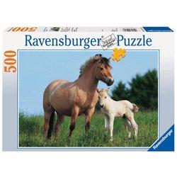 "Пазл Ravensburger ""Лошадь с жеребенком"" (144723) (от 10 лет)"