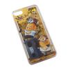 Чехол-накладка для Apple iPhone 5, 5S, SE (0L-00002870) (Миньон Рэпер) - Чехол для телефонаЧехлы для мобильных телефонов<br>Чехол плотно облегает корпус и гарантирует надежную защиту от царапин и потертостей.<br>