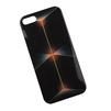 Силиконовый чехол-накладка для Apple iPhone 5, 5S, SE (0L-00002697) (Абстрактные соты 3D) - Чехол для телефонаЧехлы для мобильных телефонов<br>Чехол плотно облегает корпус и гарантирует надежную защиту от царапин и потертостей.<br>