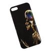 Силиконовый чехол-накладка для Apple iPhone 5, 5S, SE (0L-00002701) (Курящий скелет) - Чехол для телефонаЧехлы для мобильных телефонов<br>Чехол плотно облегает корпус и гарантирует надежную защиту от царапин и потертостей.<br>