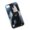 Силиконовый чехол-накладка для Apple iPhone 4, 4S (0L-00002687) (Майкл Джексон) - Чехол для телефонаЧехлы для мобильных телефонов<br>Чехол плотно облегает корпус и гарантирует надежную защиту от царапин и потертостей.<br>