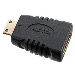 Переходник miniHDMI - HDMI (Perfeo A7001) (черный)
