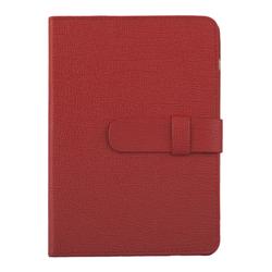 """Универсальный чехол-книжка для планшетов 7"""" (0L-00002030) (кожа, красный)"""