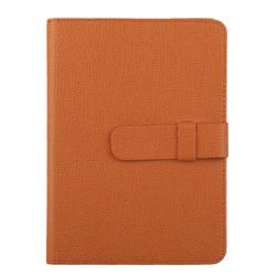 """Универсальный чехол-книжка для планшетов 7"""" (0L-00002031) (кожа, оранжевый)"""