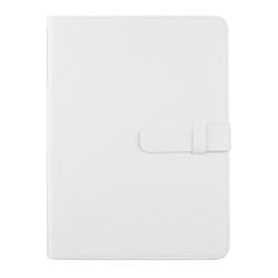 """Универсальный чехол-книжка для планшетов 10"""" (0L-00002034) (кожа, белый)"""