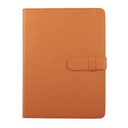 """Универсальный чехол-книжка для планшетов 10"""" (0L-00002037) (кожа, оранжевый)"""