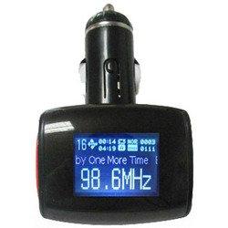 FM-трансмиттер ACV FMT-142 (красно-черный)
