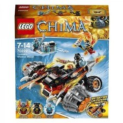 "Конструктор Lego Legend of Chima ""Огненный Вездеход Тормака"" (70222) (от 7 до 14 лет)"