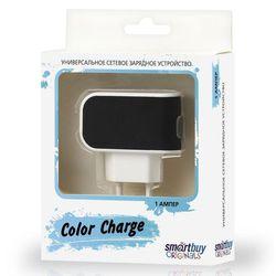 Универсальное сетевое зарядное устройство Smartbuy Color Charge (SBP-8000) (черный)