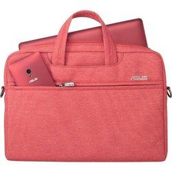 """Сумка для ноутбука 12"""" (Asus EOSSHOULDERBAG) (90XB01D0-BBA030) (красный)"""