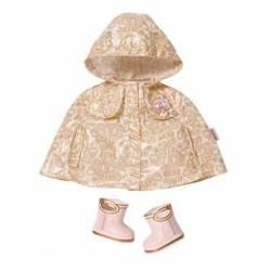 Аксессуар для кукол Zapf Baby Annabell Плащ и ботиночки (792-087) (от 3 лет)