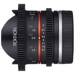 Rokinon 8mm T3.8 Cine UMC Fisheye CS II Nikon F (RK8MV-N)