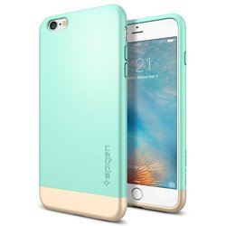 "Чехол-накладка для Apple iPhone 6 Plus, 6S Plus 5.5"" (Spigen Style Armor SGP11661) (мятный)"