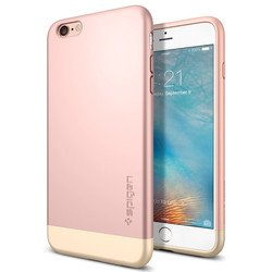 "Чехол-накладка для Apple iPhone 6 Plus, 6S Plus 5.5"" (Spigen Style Armor SGP11728) (розовый)"