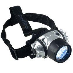 Светодиодный налобный фонарь Perfeo LT-009 (черно-серебристый)