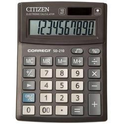 Калькулятор настольный Citizen Correct SD-210 (черный)