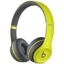 beats solo2 wireless (mkq12ze/a) (желтый)