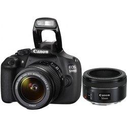 Canon EOS 1200D Kit (black EF-S 18-55mm IS II + 50mm 1.8) (9127B132) (������)