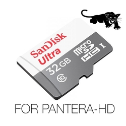 SanDisk Video Full-HD / Super-HD, Ultra SPEED, 32Gb For PANTERA-HD