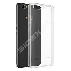 Силиконовый чехол-накладка для Huawei Honor 6 (iBox Crystal YT000007882) (прозрачный)