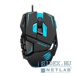 мышь mad catz m.m.o.te gaming mouse - matt black проводная лазерная (mcb437140002, 04, 1)
