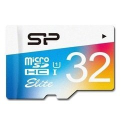 карта памяти microsdhc silicon power elite colored 32gb (sp032gbsthbu1v20)