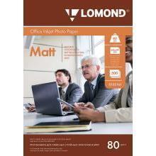 Матовая фотобумага A4 (500 листов) (Lomond 0102161)
