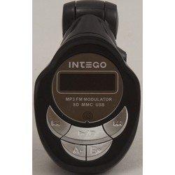 FM-трансмиттер Intego FM-102 (черный)