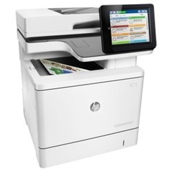 hp color laserjet enterprise m577dn (белый)