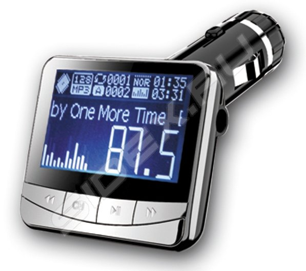 FM-трансмиттер ACV FMT-122 (черный) - MP3, FM модулятор