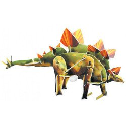 """Заводной 3D пазл """"динозавр Стегозавр"""" (RC39686) (от 4 лет)"""