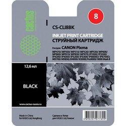 Картридж для Canon Pixma Cactus CS-CLI8BK (черный)