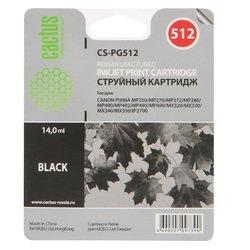 Картридж для Canon Pixma Cactus CS-PG512 (черный)