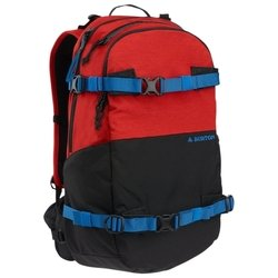Burton Rider's 25 black/red (flame heather)
