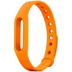 Сменный ремешок для фитнес браслета Xiaomi Mi Band (Mi Fit) (оранжевый) 1-я категория