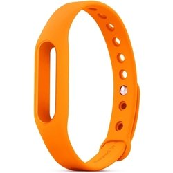 Сменный ремешок для фитнес браслета Xiaomi Mi Band (Mi Fit) (оранжевый)