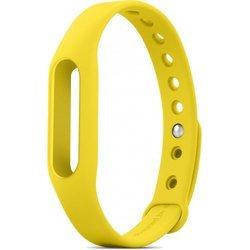 Сменный ремешок для фитнес браслета Xiaomi Mi Band (Mi Fit) (желтый) 1-я категория