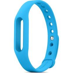 Сменный ремешок для фитнес браслета Xiaomi Mi Band (Mi Fit) (голубой) 1-я категория