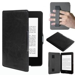 Чехол-обложка для Amazon Kindle PaperWhite (AKP-R03BL) (черный)