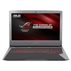 "asus rog g752vt (core i7 6700hq 2600 mhz/17.3""/1920x1080/24.0gb/1128gb hdd+ssd/blu-ray/nvidia geforce gtx 970m/wi-fi/bluetooth/win 10 home)"