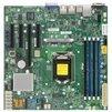 Supermicro X11SSM-F (Bulk) - Материнская платаМатеринские платы<br>Материнская плата форм-фактора microATX, сокет LGA1151, чипсет Intel C236, 4 слота DDR4 DIMM, 1600-2133 МГц, видеоадаптер Aspeed AST2400, разъемы SATA: 6 Гбит/с - 8.<br>
