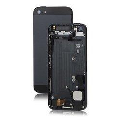 Корпус для Apple iPhone 5 c боковыми клавишами (52638) (черный)